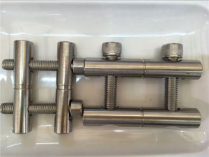 ANSI 316Ti/EN 1.4571, 317L/EN 1.4438 stainless steel parts-Connecting rod series