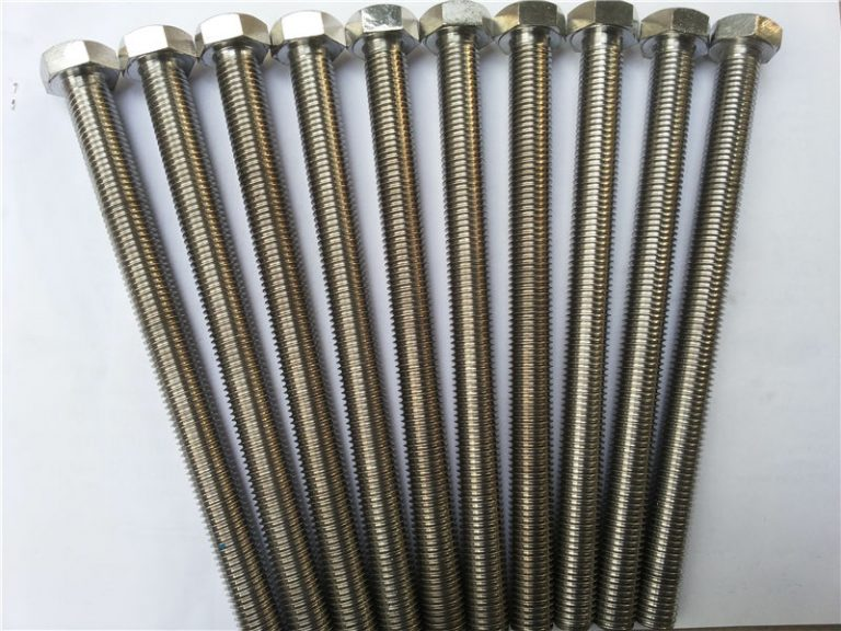 904l hex bolts