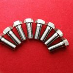 stainless stee304 clinching screw/hexagon head bolt ss 304 truss head bolt