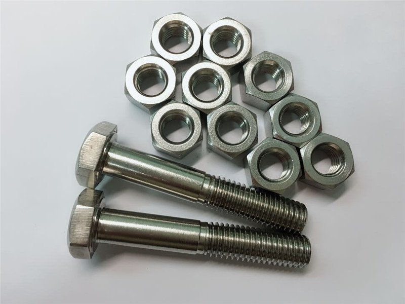 Alloy 20 Bolts And Nuts Stainless Steel Fastener Uns