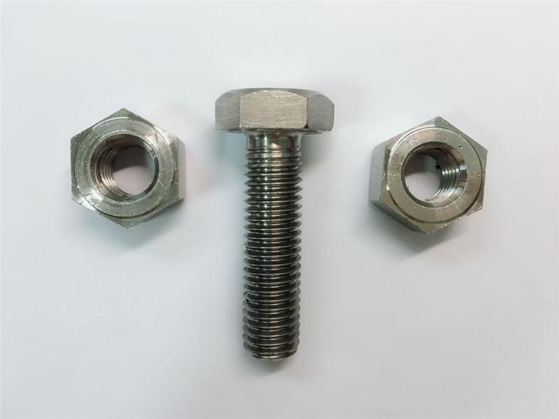 Alloy825 & 800 stainless steel hex nuts din934 en 2.4858 en1.4558