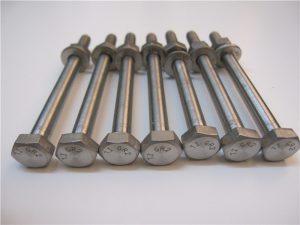 Best Qulity Hex Head DIN933 Titanium Bolt Gr2 for Sale