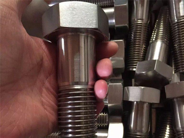 incoloy 825 en 2.4858 stainless steel bolt screw fastener inconel718 en2.4668
