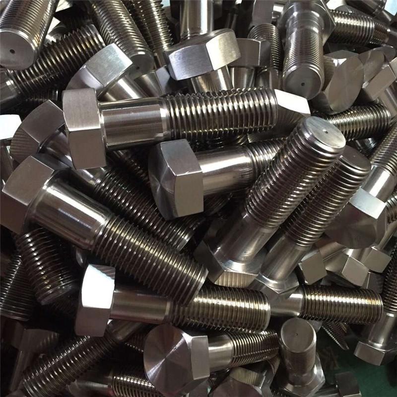 Nickel-Legierung 600 EN 2.4816 Bolzen Radbolzen DIN931chinesischen Lieferanten