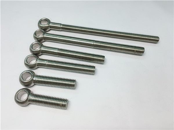 904l/1.4539/uns n08904 eye bolt, customized bolts for valve assemblying
