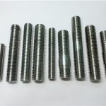 alloy718/2.4668 thread rod,stud bolts fastener din975/din976