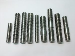No.104-alloy718 2.4668 thread rod,stud bolts fastener DIN975 DIN976