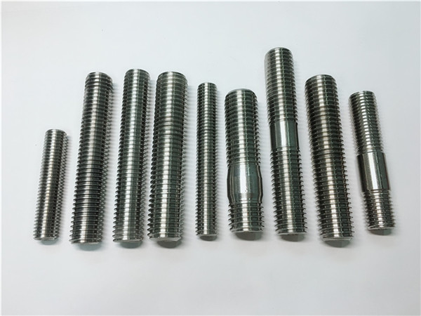 No.104-alloy718 2.4668 thread rod, fastener ng bolts ng stud DIN975 DIN976