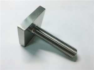 No.105-Nickel Cooper monel400 square bolt fastener uns n04400