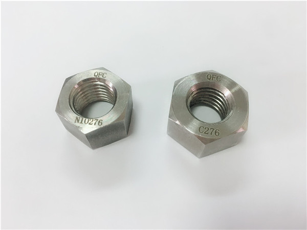 manufacturer special alloy fasteners hastelloy c276 nuts