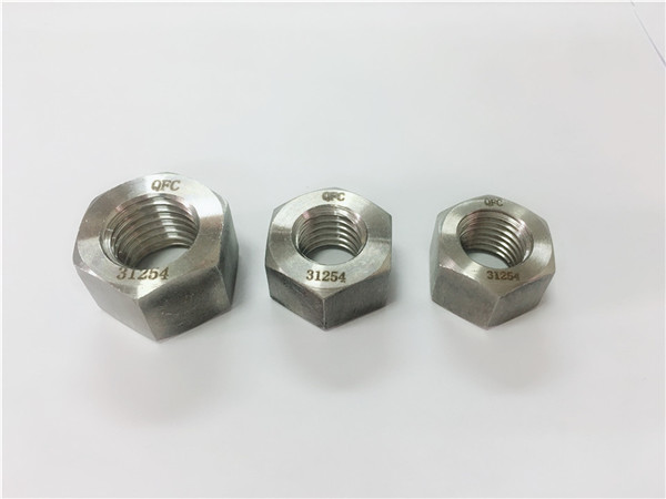 gh2132/a286 stainless steel fasteners heavy hex nuts m6-m64