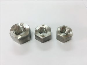 a193 b8 stud bolts with heavy hex nuts asme
