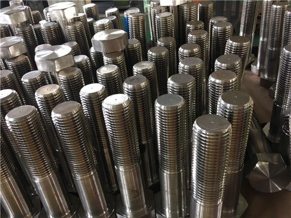 No.12-kuusiokoloruuvit ISO4014 puolikierteet A193 B8, B8M, B8T, B8C SS-kiinnitys
