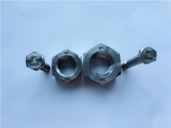 nickel alloy c22 en 2.4602 all threaded stud bolt nus hastelloy c 276