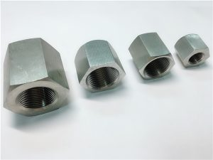 No.31-Durable in use custom machining female thread Hexagon stainless steel nut
