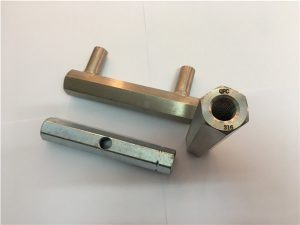 No.32-Custom made long non-standard female threaded spacer hex coupling nuts