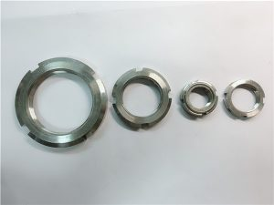 china supplier custom made stainless steel round nut