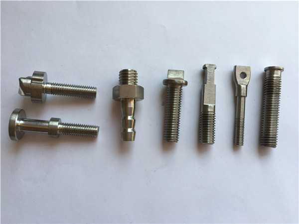 titanium gold cnc machine bicycle bolt