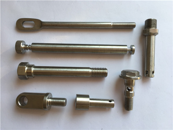 recision stainless fasteners cnc turning metal fasteners