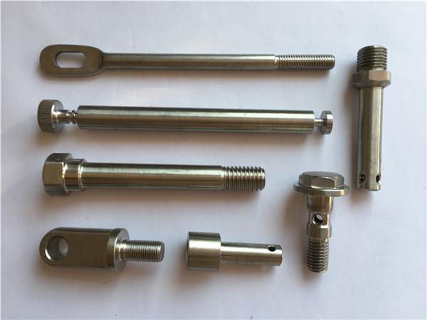 Nr.42 nerūdijančios tvirtinimo detalės CNC Tekinimo metalinės tvirtinimo detalės