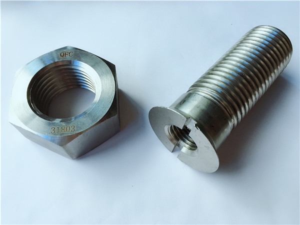 s31803/f51 screw and nuts