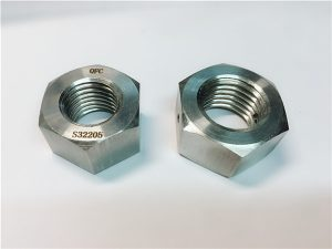 No.76 Duplex 2205 F53 1.4410 S32750 stainless steel fasteners heavy hex nut