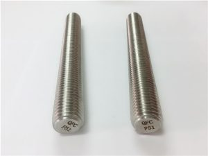 No.77 Duplex 2205 S32205 stainless steel fasteners DIN975 DIN976 threaded rods F51