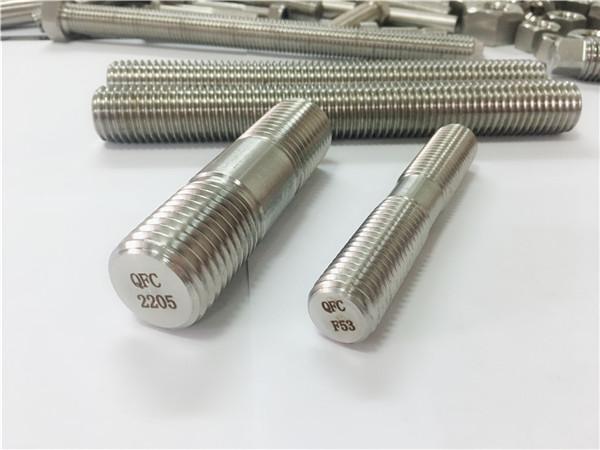 duplex 2205 s32205 2507 s32750 1.4410 high quality hardware fastener wooden threaded rod anchor