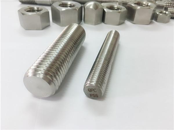 No.81-F55 Zeron100 fasteners prej çeliku inox shufra e plotë e filetuar S32760
