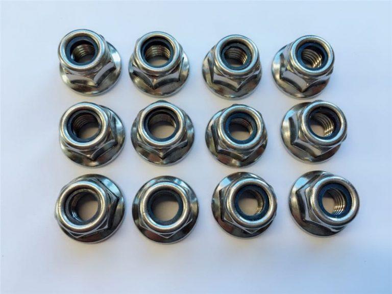 316l, 317l, 310s, 1.4462, 1.4410 nylon nuts