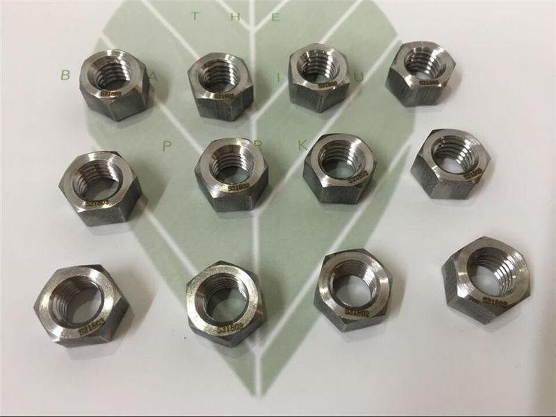 S31803 Hexagon Hex Nut