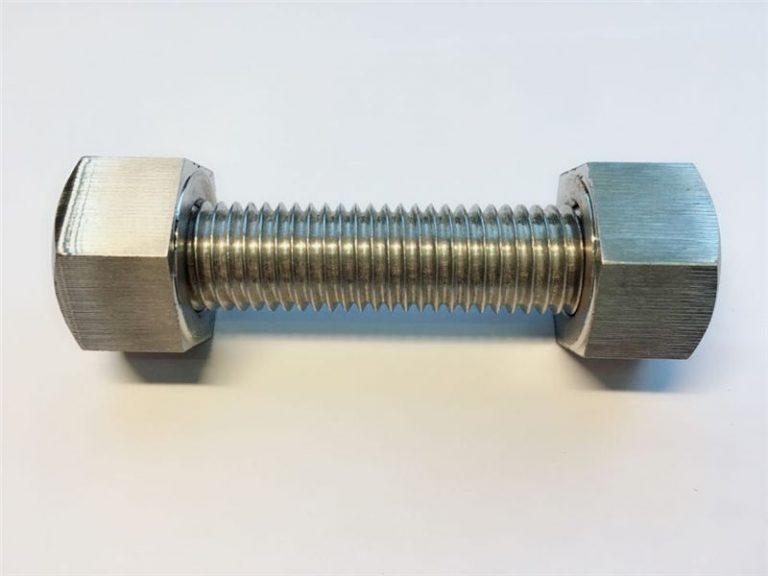 stud bolts c/w 2 heavy hex bolts