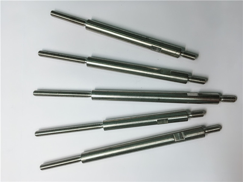 cnc precision machining stainless steel threaded fasteners