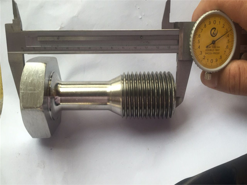 custom cnc turned parts precision machining screw fastener