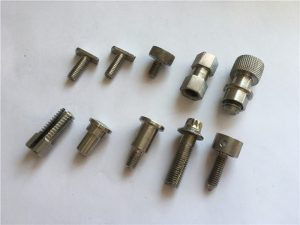 ngaropéa precision tinggi nonstandard screw, stainless steel screw cnc machining