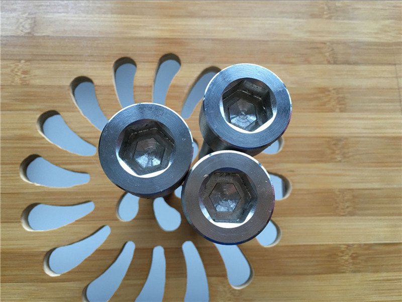 visokokvalitetni ASEM hex socket titan gr2 vijak / vijak / navrtka / pranje /